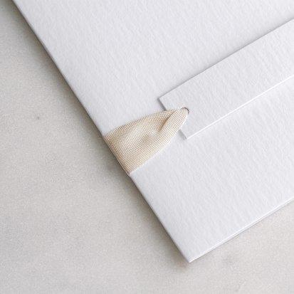 lazo vintage ivoire 60 cm